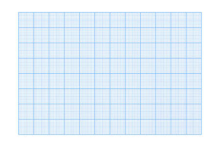 Millimeter graph paper grid. Abstract squared background. Geometric pattern for school, technical engineering line scale measurement. Lined blank for education isolated on transparent background.