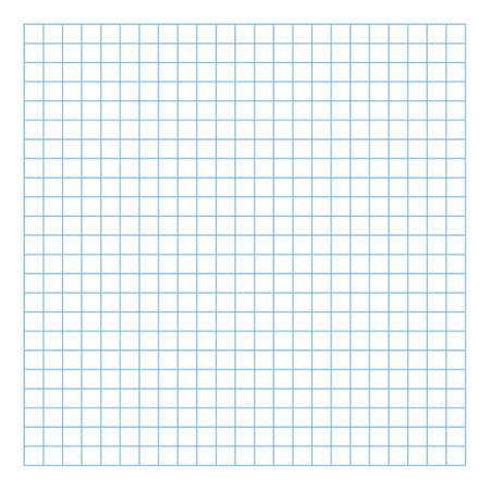 Grid paper. Abstract squared background with color graph. Geometric pattern for school, wallpaper, textures, notebook. Lined blank on transparent background