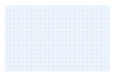 Millimeter graph paper grid. Abstract squared background. Geometric pattern for school, technical engineering line scale measurement. Lined blank for education isolated on transparent background