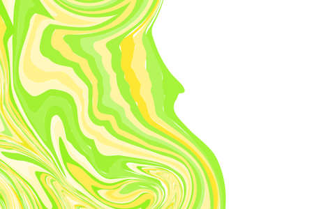 Fluid art. Modern artwork background. Mixture of acrylic paints. Abstract liquid painting marble texture, colorful gradient waves. Vector design for banner, flyer, card, cover, invitation. Copy space