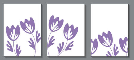 Floral web banner with traditional folk art ornament. Nature concept design. Modern floral collection of contemporary posters. Vector illustration for social media, print, postcard.Scandinavian style