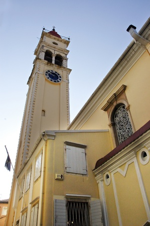Church of St  SpyridonCorfu, Greece photo