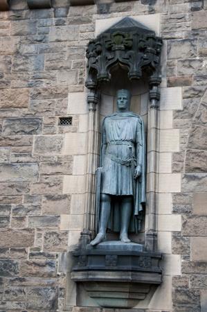 Detail on Edinburgh Castle Editorial