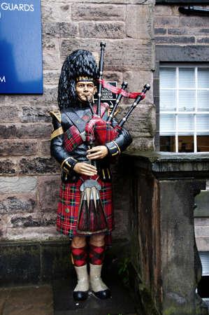 Edinburgh Castle in Scotland, England