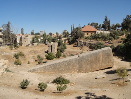 heliopolis:   Baalbek ruins - seen morning time