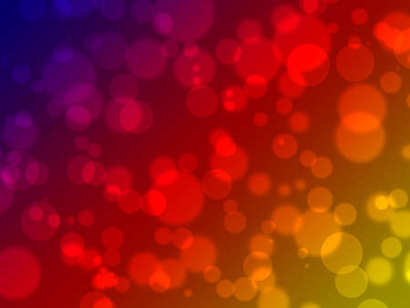 Abstract on a colorful background digital bokeh effect Stock Photo - 14919720