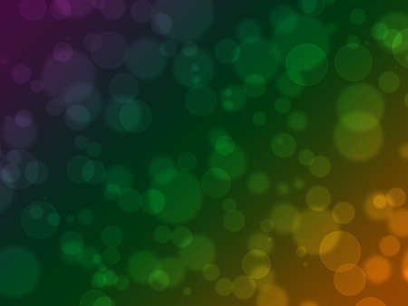Abstract on a colorful background digital bokeh effect Stock Photo - 14919717