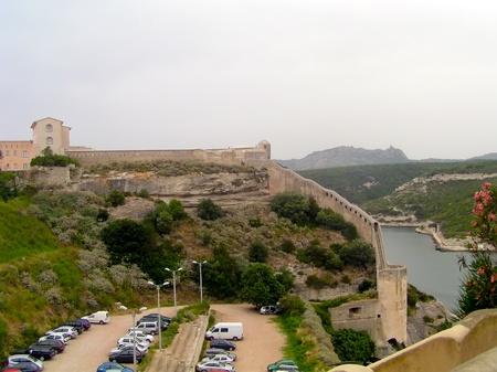 Citadel Fortress old town Bonifacio Corsica France