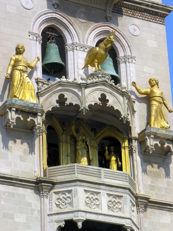 The cathedral of Messina: details Stock Photo