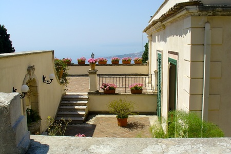 House in Taormina, Sicily