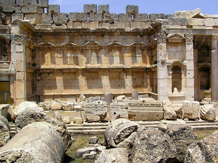 heliopolis: Ruins at Baalbek, Bekaa Valley, Lebanon