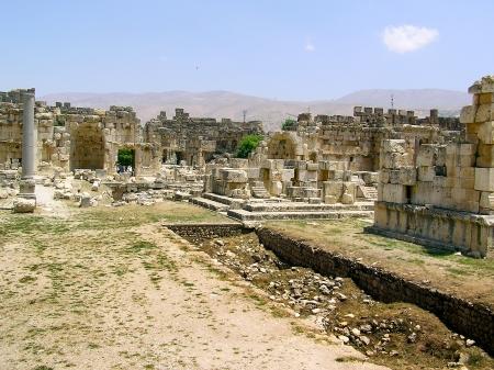 Ruins at Baalbek, Bekaa Valley, Lebanon