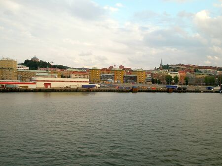 View of the Gothenburg city, Sweden