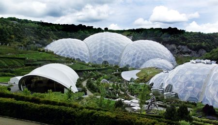 eden: Biomes at the Eden Project in Cornwall, UK