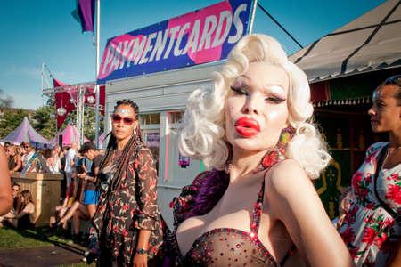 Amanda Lepore - Milkshake Festival Amsterdam at Westerpark - July 2018 Éditoriale
