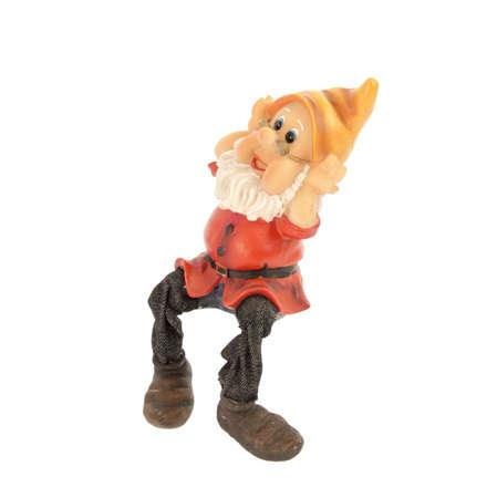 gnome: Garden gnome on a white background.