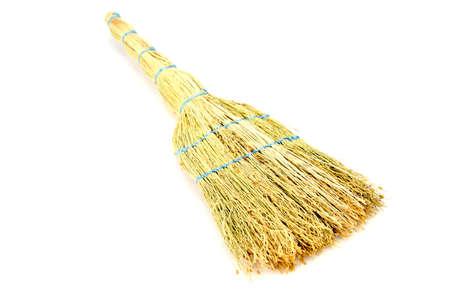 sorgo: broom made from sorghum environmentally friendly thing