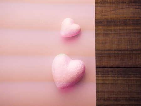Happy Valentines Day, hearts love romantic background