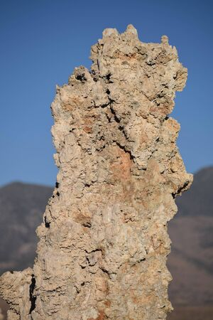 Isolated Tufa, up Close Imagens