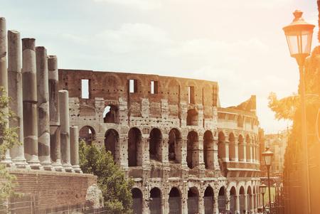 Colosseum (Coliseum) in Rome, Italy, Europe.