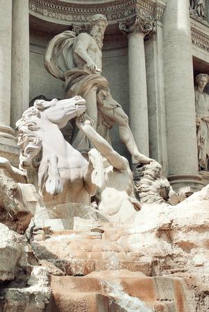 Trevi Fountain or Fontana di Trevi Reklamní fotografie