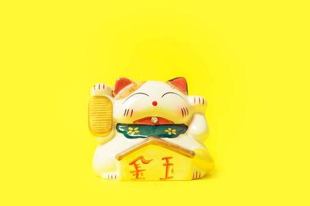 Maneki Neko Japanese lucky cat figure