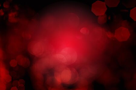 Festive red background bokeh of glare Stock fotó - 134638626