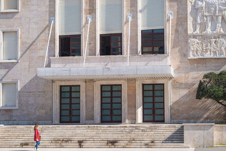 Official residence and office of the Prime Minister of Albania. Editorial