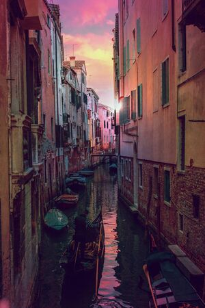 canal in Venice, Italy scenic view Reklamní fotografie
