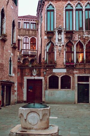 Historic houses of the Grand Canal in Venice