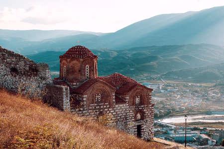 St. Theodores church in Berat, Albania