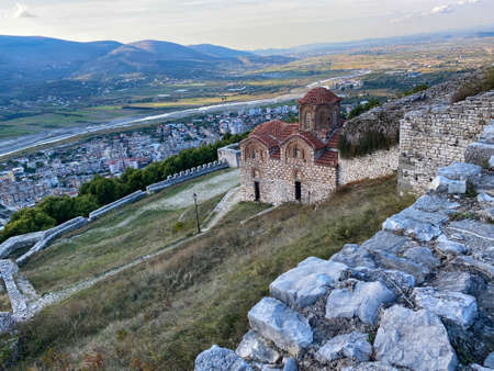 St. Theodores church in Berat city, Albania