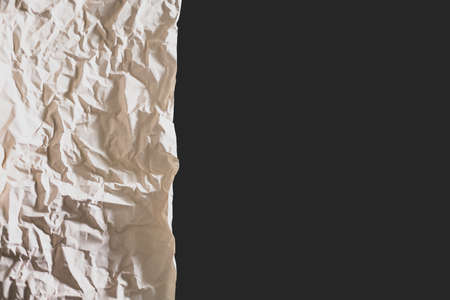 wrinkled paper as a background