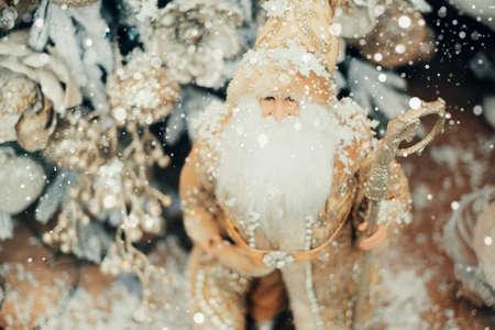Santa Claus christmas toy decoration 免版税图像