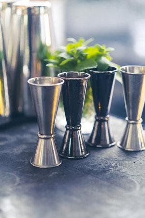 cocktail shaker bartender tools a set of equipment