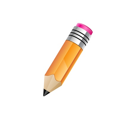 Pencil icon Stock Vector - 18826035