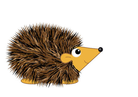 Cartoon Hedgehog Stock Vector - 8404903