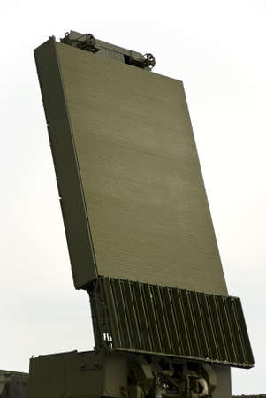 Military Radar Antenna photo