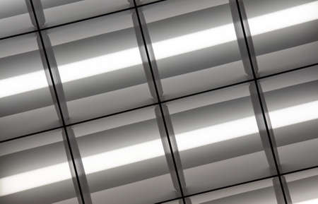 Fluorescent Lamps Lighted photo
