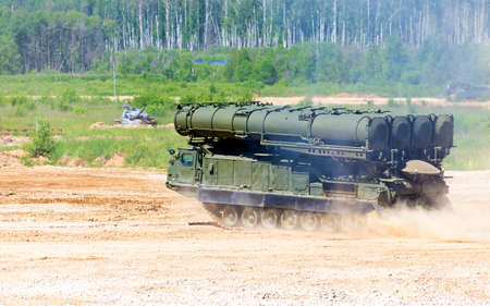 new generation: Russian anti-aircraft large and medium-range  missile system  of new generation
