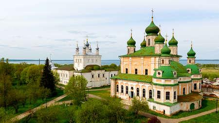 assumption: Goritsky monastery of the assumption in Pereslavl Zalessky, Yaroslavl Region, Russia
