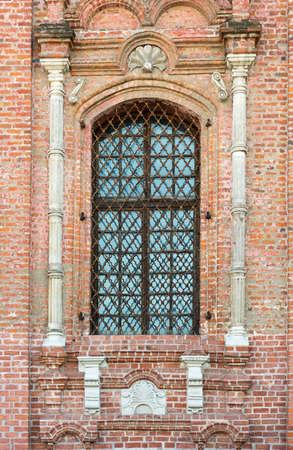 lattice window: Old window with a lattice Stock Photo