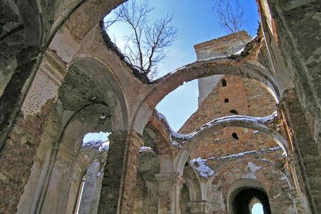 Ruins of Roman-Catholic church