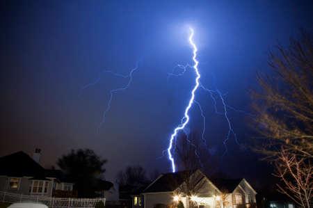 Bellezza e paura nel potere naturale del fulmine