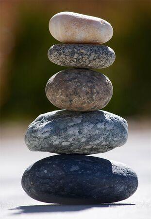 Balanced Stack of Rocks