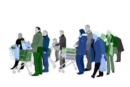 people shopping Stock Photo - 2782463