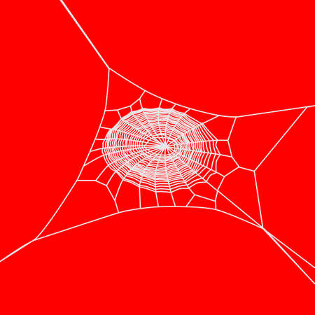 spider web background, vector  Vector