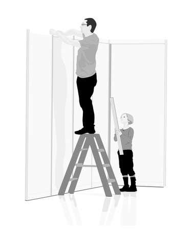 zelf doen: Doe het zelf, vector illustration