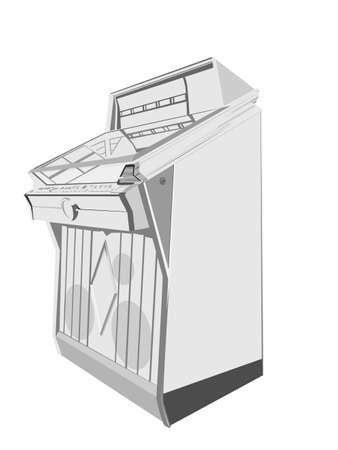 jukebox Stock Vector - 4206827