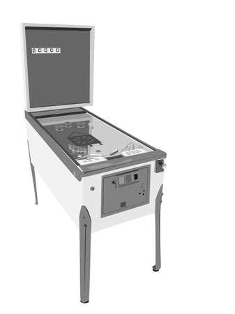 Pinball Machine Vector